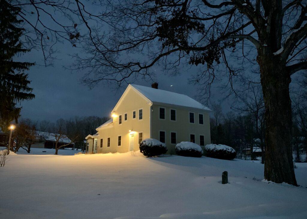 The Cozy Inn at Night